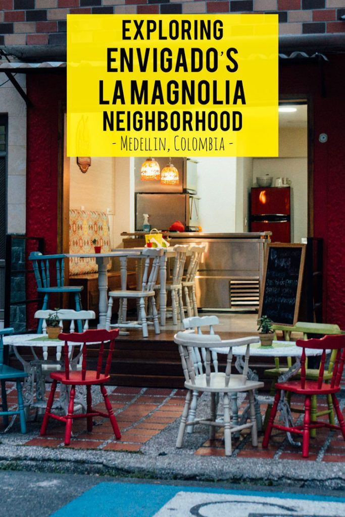 Along the northeast edge of Envigado, Colombia you'll find the up-and-coming neighborhood of La Magnolia...