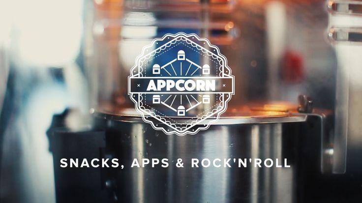 appcom video  appcorn   popcorn   summer party   schwanenhoefe   duesseldorf   snacks, apps & rock'n'roll   appcom