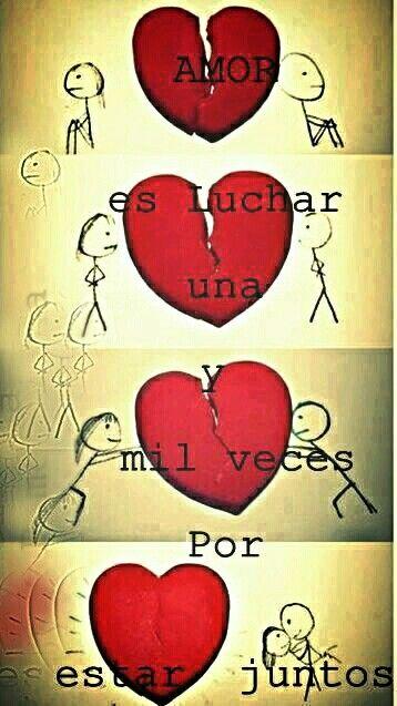 Amar Es Nunca Rendirse Imagenes De Amor Frases De Amor Y