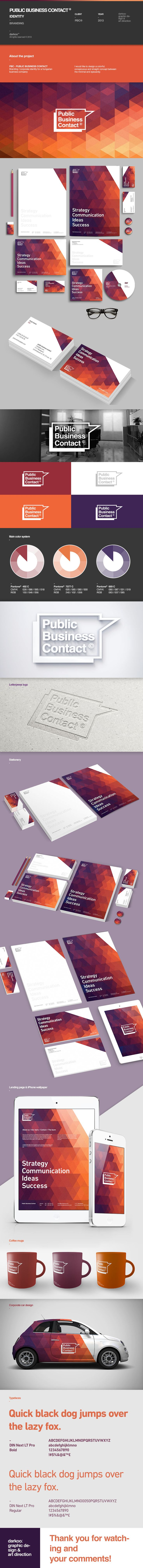 PBC© corporate identity - via @Behance - http://www.behance.net/gallery/PBC-corporate-identity/11172001