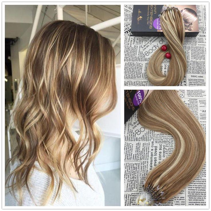 Shop Micro Bead Remy Human Hair Extension - Moresoo Hair Extension #behindthechair #modernsalon #longhair #shorthair   #stylist #hairsalon #cosmetologist #cosmetologists #hairsalons #hairdressers #stylistlife #hairoftheday