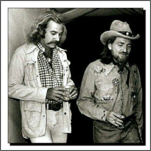 Jimmy Buffett & Willie Nelson (1970's)