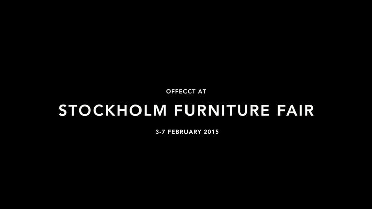 Offecct at Stockholm Furniture Fair 2015
