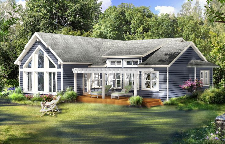 Aspen ii model by beaver homes and cottages includes for Home hardware house plans