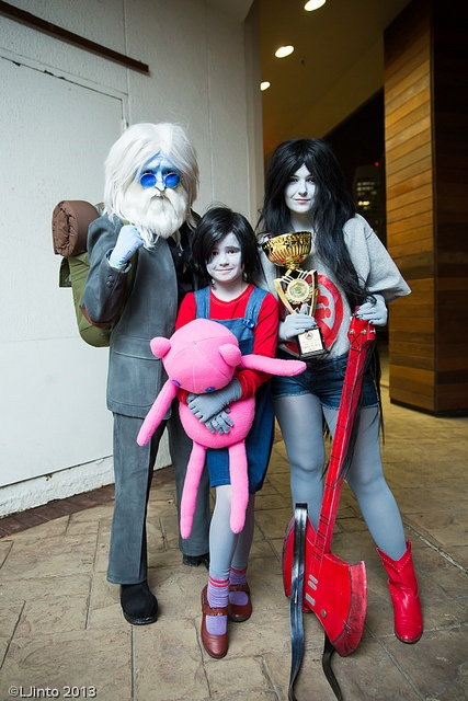 Adventure Time #cosplay Simon, Marcy and Marceline <3