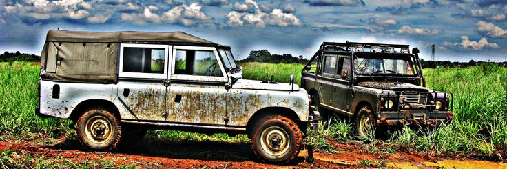 land rover series III, double cabin hard-top & land rover series III, double cabin soft-top