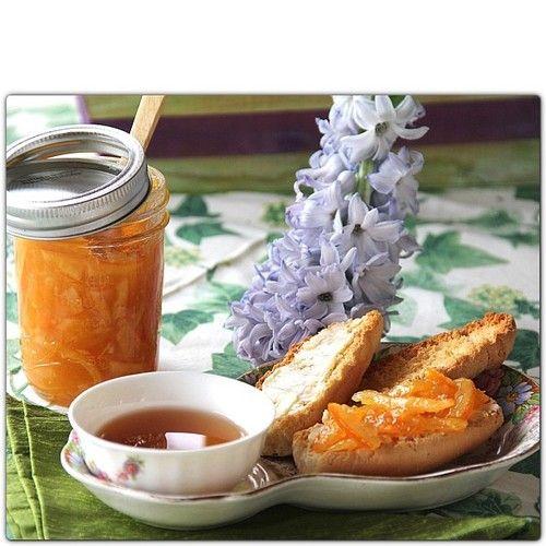 Orange Marmalade... Breakfast or 5 o'clock tea?