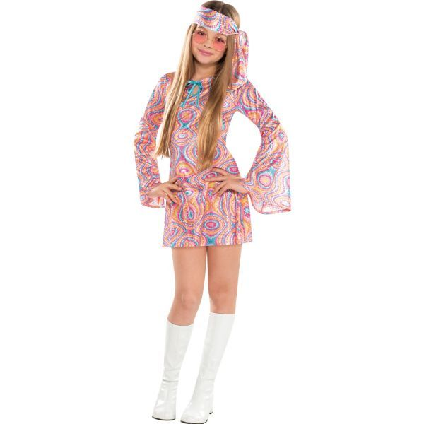Girls Disco Diva Costume