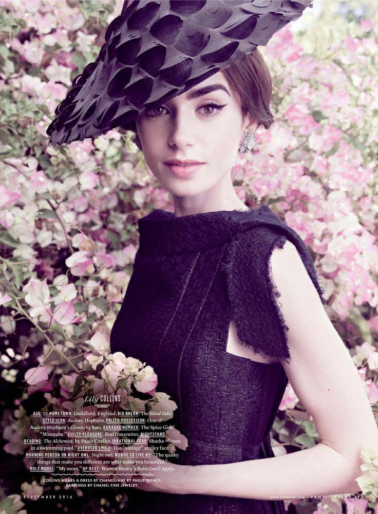 30 mejores imágenes de lily collins en Pinterest | Lirios ...