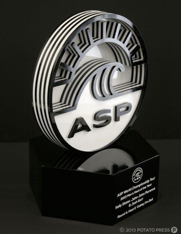 ASP-Awards-trophy-portrait-custom-lasercut-laser-cut-gold-coast-australia-bespoke-unique