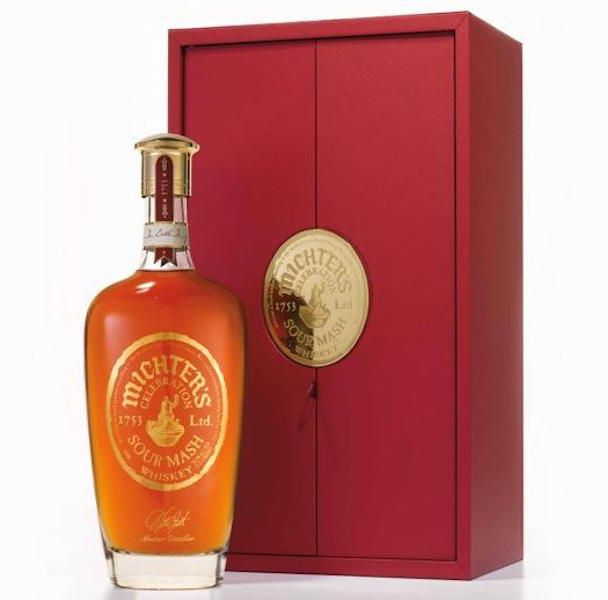 Despite Pappy's popularity, Michter's Celebration Sour Mash remains the most expensive bourbon (even though it sits on the rye bourbon fence given its blend) in the US at the moment. (image via Michter's)