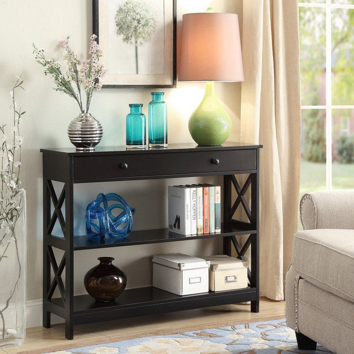 Convenience Concepts Oxford Console Table with Drawers | Hayneedle