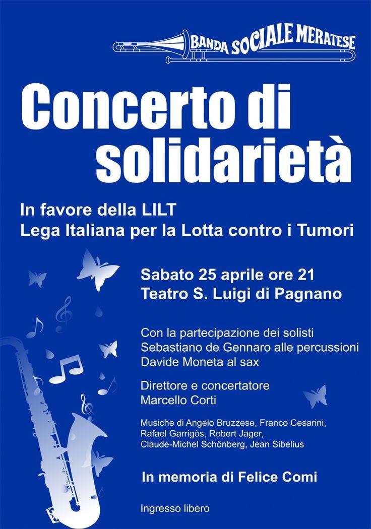 Concerto di Solidarietà in favore della LILT - Leta Italiana alla Lotta contro i Tumori