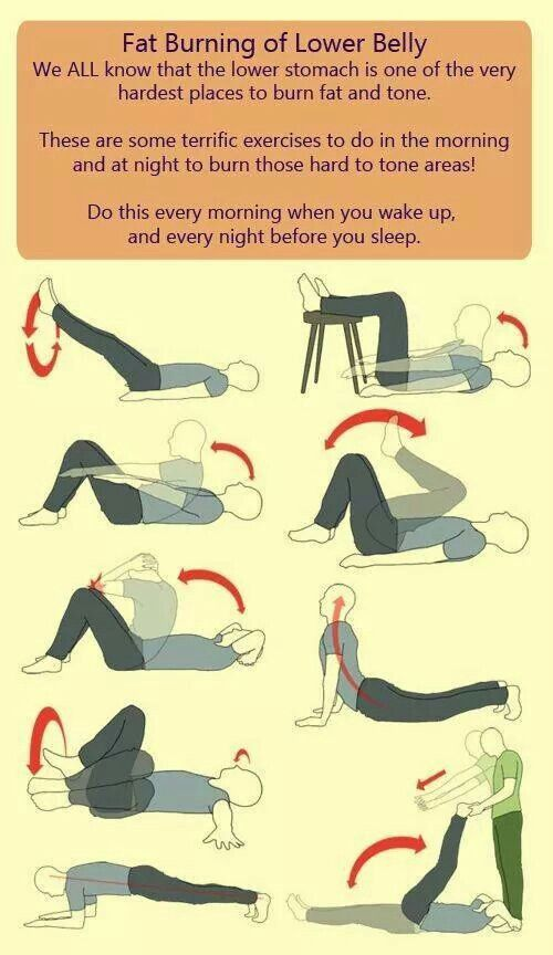 Lower belly excercises