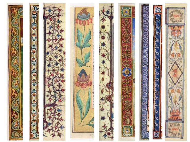 illuminated manuscript borders - Google Search