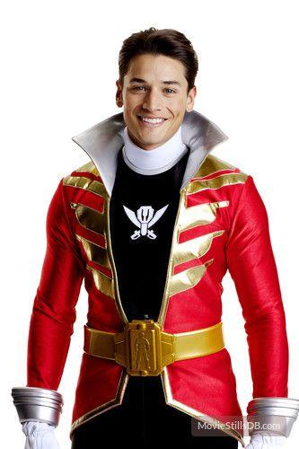 Power Rangers Megaforce promo shot of Andrew M Gray