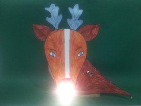 Un renne de Noël électrique à fabriquer dans le cadre d'un projet sur l'électricité (CE1 - CE2 - CM1 - CM2)