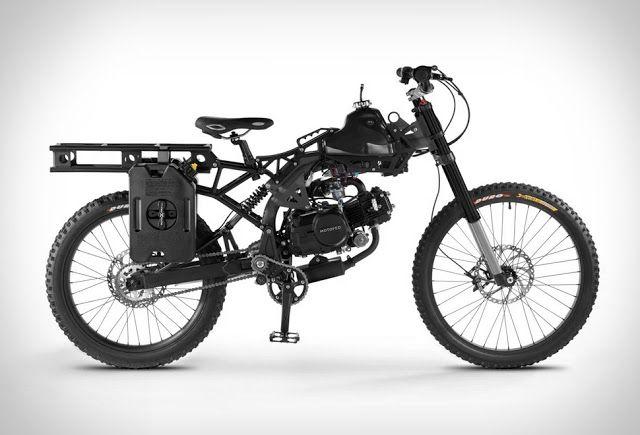 Motoped Survival Bike - TeknOlsun