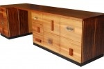 Martin Davis' Beautiful 'Grandpa's Desk' Reclaims Wood from Old Wardrobes No Longer in Use