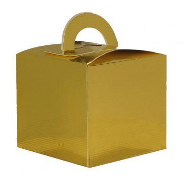 Mini Cajita Regalo Oro, clásica forma la de esta cajita, resulta ideal para meter detalles especiales. #diy  #packaging