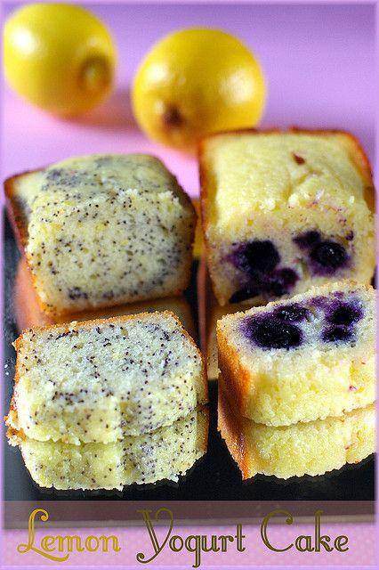 lemon yogurt cake | Cakes | Pinterest | Yogurt Cake, Lemon Yogurt Cake ...