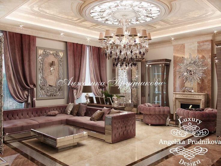 Авторский дизайн интерьера дома на Рублевке - фото