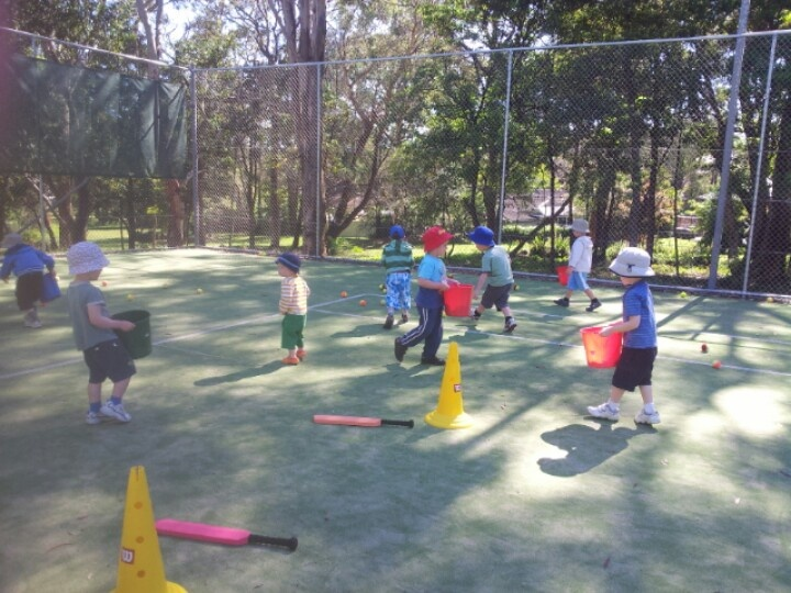 Come for a free trial at Hippity Hop. For preschool age children 2.5 to 5+ years.  Award winning sport skills class. Free coffee and muffin voucher for mum's. Belrose Tennis Club. EXTRA CLASSES NOW ON TUESDAYS. 0433151795 for details.