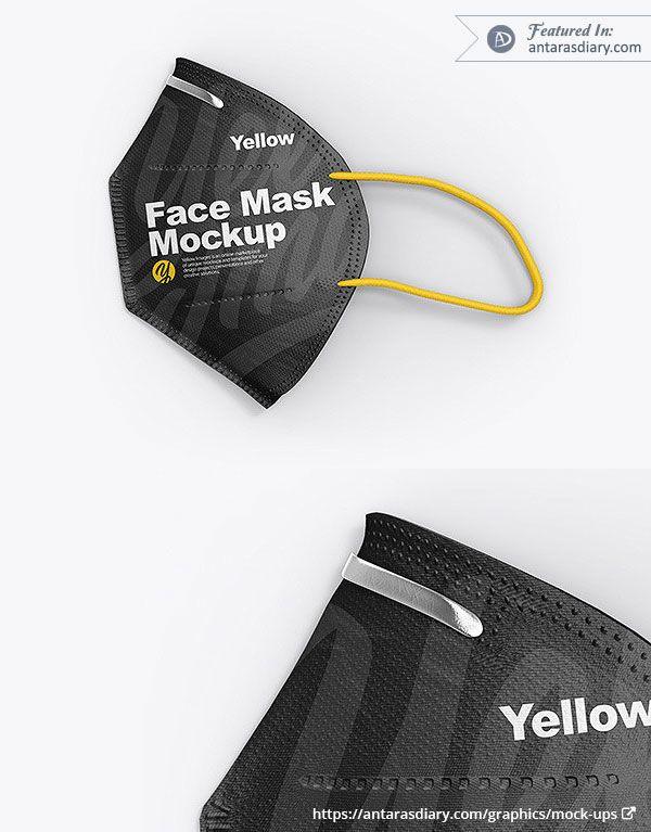 Download N95 Face Mask Mockup Psd Files Mockup Psd Mockup Mockup Photoshop