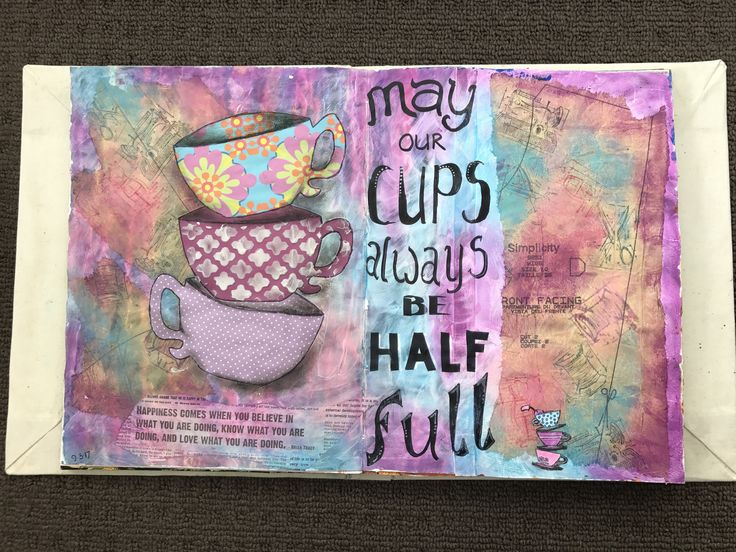 may our cups always be half full