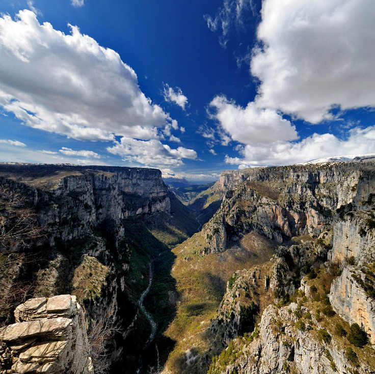 Vikos Gorge - is one of the most popular hiking destinations in Greece