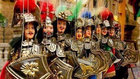 il teatro dei pupi siciliani