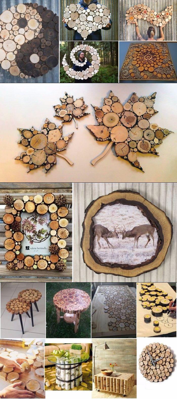 20 Kreativ mit Ästen und Baumteilen Ideen   kreativ, deko ...