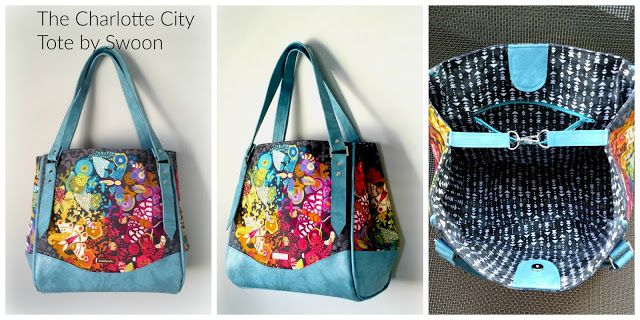 Novice Beginnings: The Charlotte City Tote by Swoon