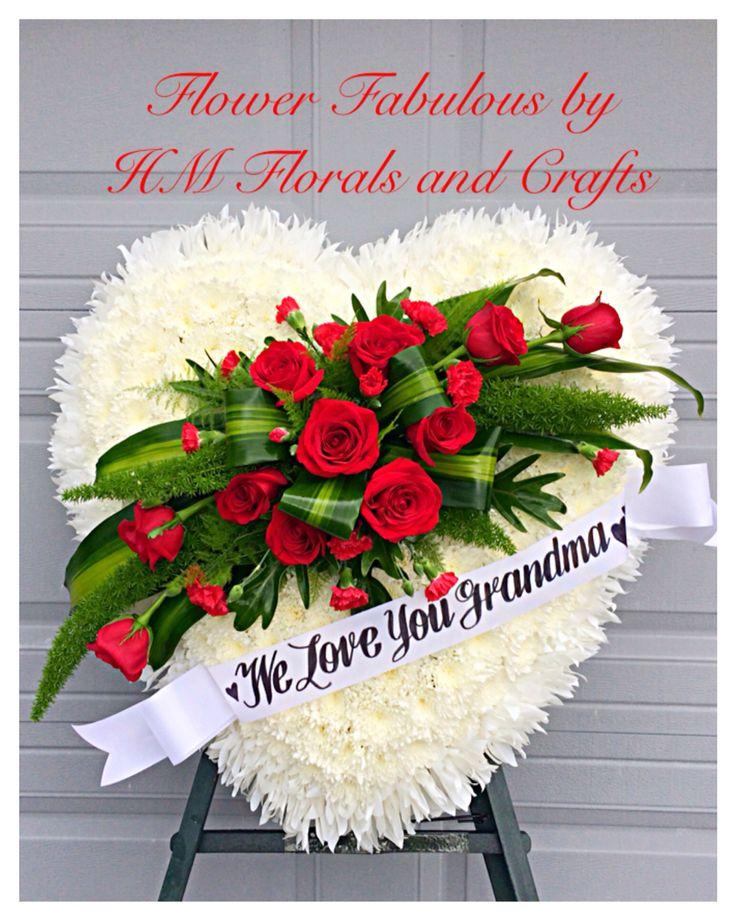 Grandma Has A Big Heart :  A loving sympathy tribute.