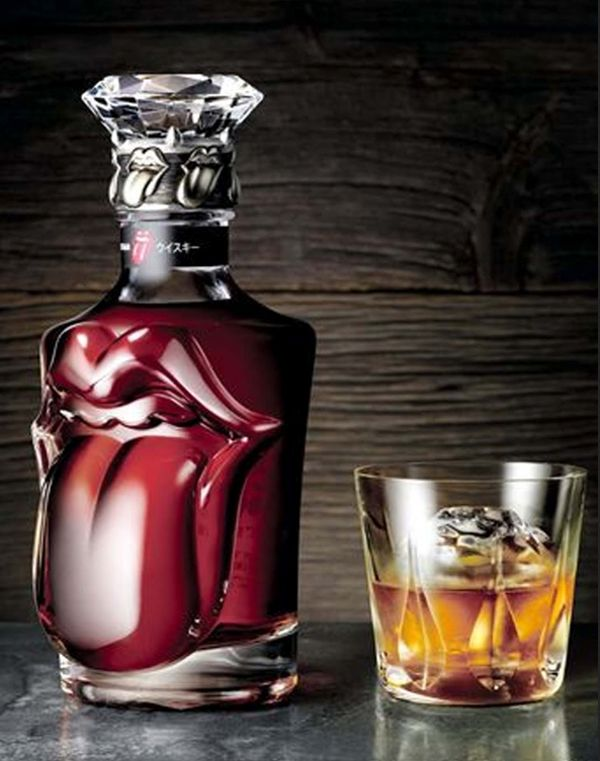 Suntory-Whisky: Special Edition Rolling Stones whiskey