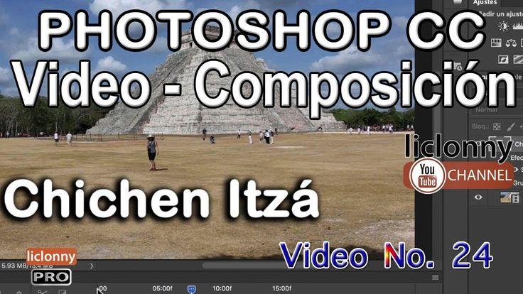 Tutorial Photoshop CC Video Composición 24 ¿Cómo crear transiciones pers...