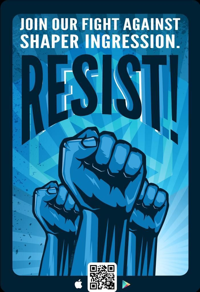 The world around you isn't what it seems... Join the #Resistance! @ingress #IngressRecruits