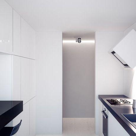 Kitchen design in Katowice, POLAND - archi group. Kuchnia w mieszkaniu w Katowicach.