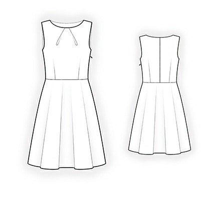 4263 PDF vestido coser patrón ropa mujer por TipTopFit en Etsy