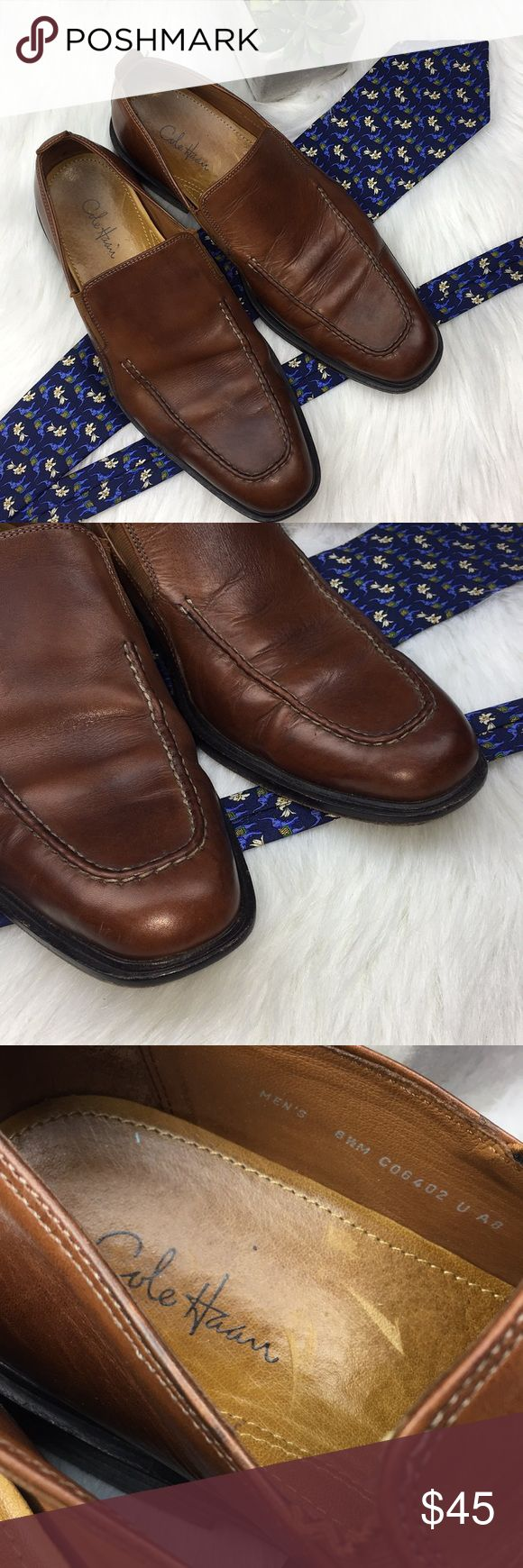 Men's Sz 8.5m Cole Haan loafers Sz 8.5 M Some wear but still good shoe Cole Haan Shoes Loafers & Slip-Ons