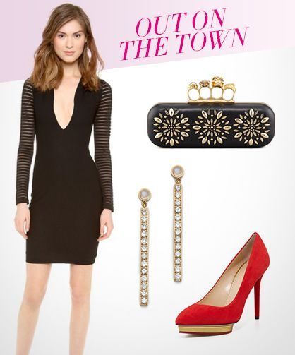 What to Wear for Valentine's Day: Night Out on the Town