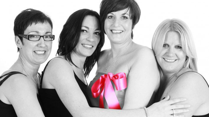 Celebrating the pink ribbon month with Lingerie from Satin Candy! www.spice4life.co.za
