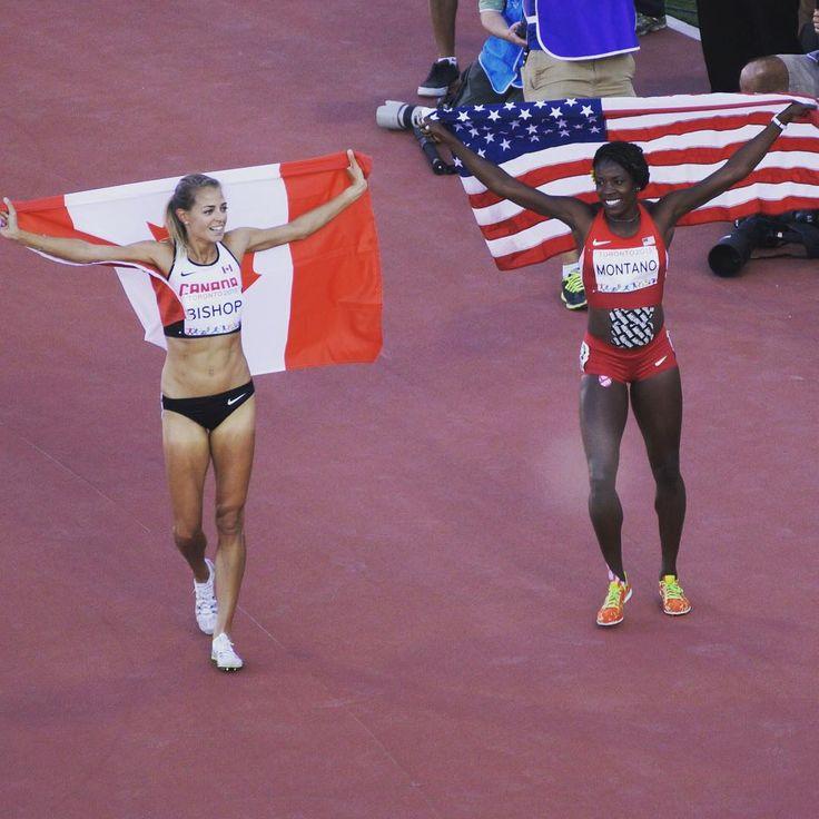 Gold and silver for Canada  and USA in women's 800m finals! // L'or pour Canada et l'argent pour les États Unis - 800m femmes! // ¡Oro y plata para Canadá y los Estados Unidos en los 800m femeninos!