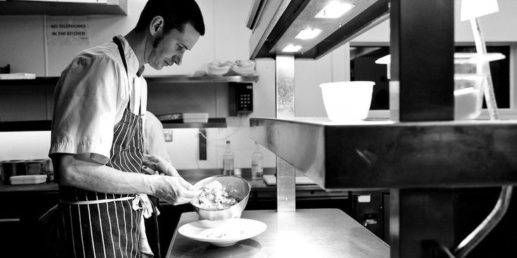 He's @Nathanoutlaw's right hand man cooking @OUTLAWSinLondon - find out more about Pete Biggs http://togbc.com/1JrW1Qp