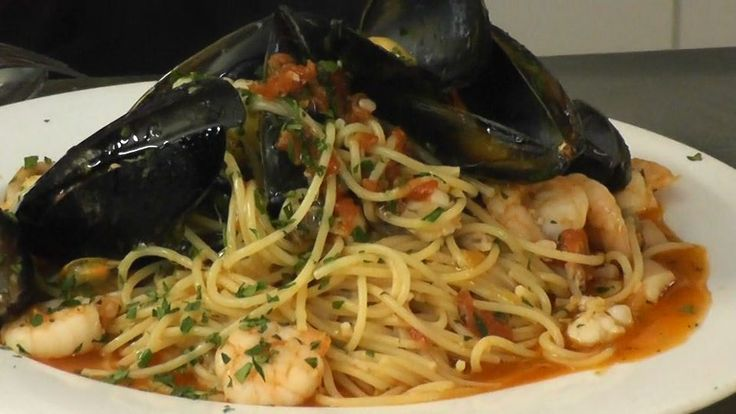 Seafood pasta! Check out our video below!