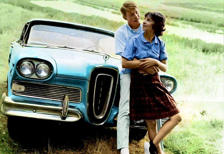 Ron Howard Cindy Williams and a '58 Edsel 1973 (American Graffiti)