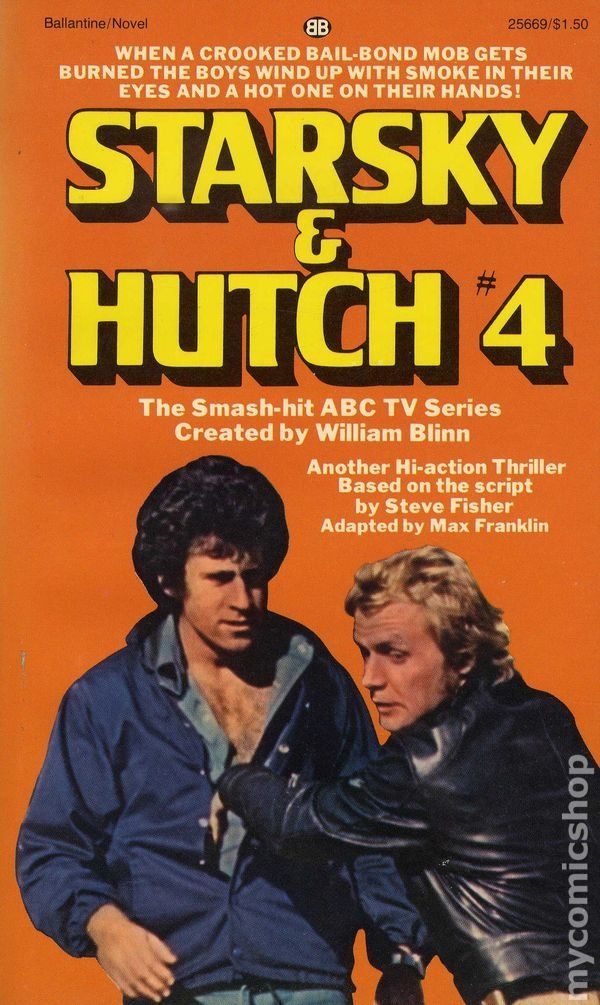 Book Cover Series Tv ~ Starsky hutch tv tie in covers pinterest paul