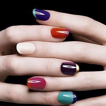 Two Tone Manicure