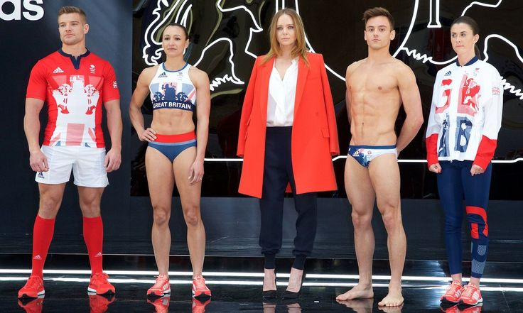 Some of Britain's top Olympians joined the designer for the reveal of her new Team GB kits this week – here are some of the key details