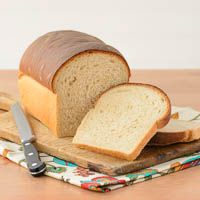 A recipe for basic white bread using unbleached all-purpose flour and white whole whole wheat flour.